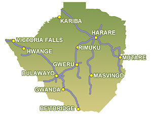 Zimbabwe Bass Fishing Areas